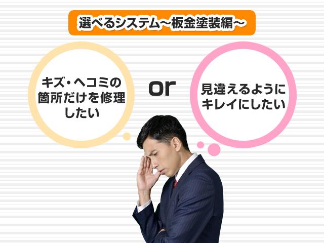 選べるシステム~板金塗装編~